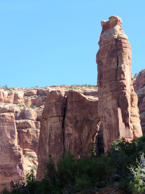 Arch Canyon, to Angel Arch