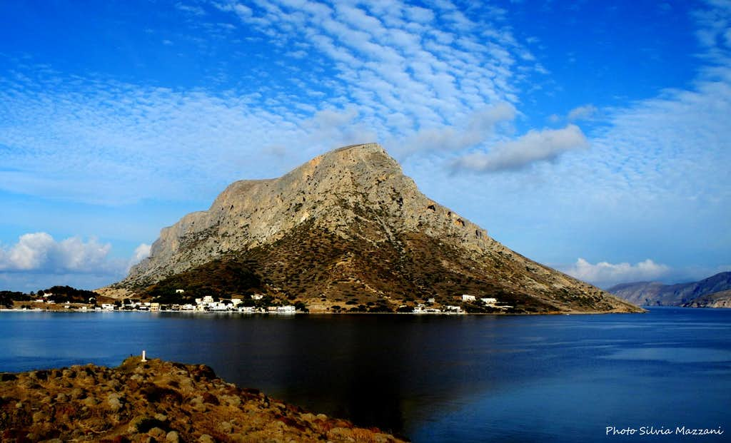 Telendos seen from  Kalymnos