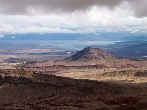 Lava Butte and Lake Mead from...
