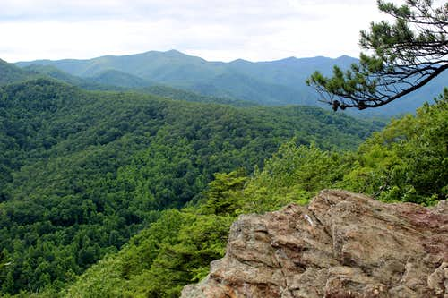 Kitsuma Peak (North Carolina Blue Ridge)