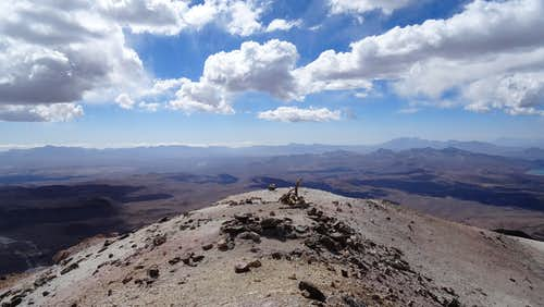 Acotango summit
