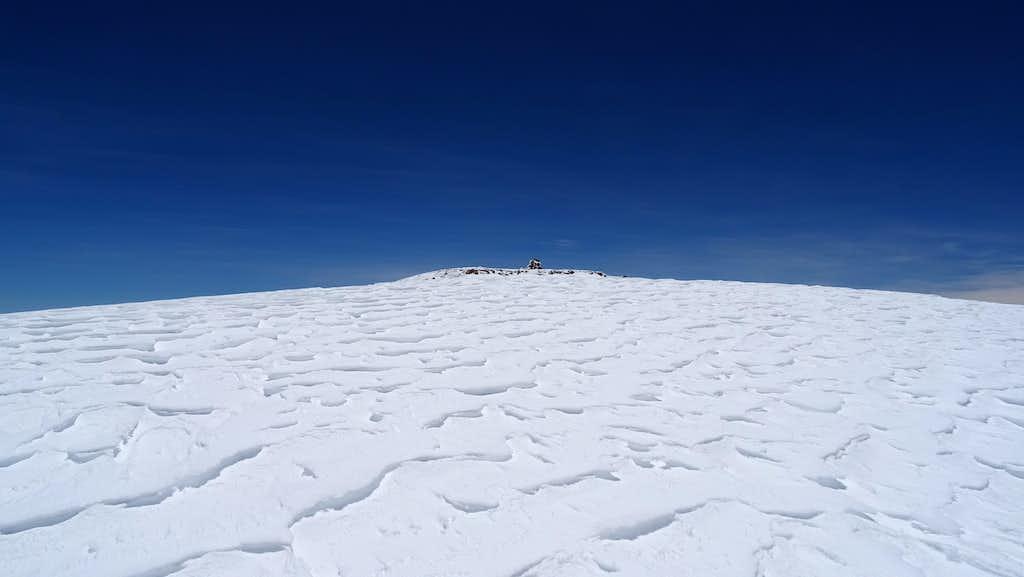 Alto Toroni, approaching the summit