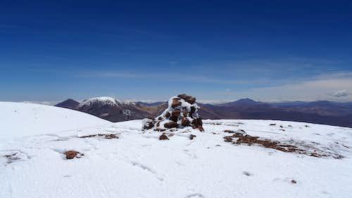 Alto Toroni summit