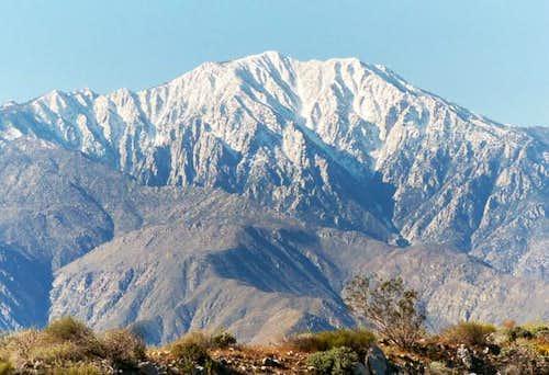 Eastern view of San Jacinto...