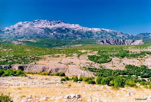 Crnopac (1404m) , highest...