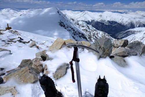 Destination Disease on Grays Peak: Scaling my first 14er