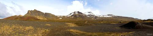 Snæfellsjökull from the northwest