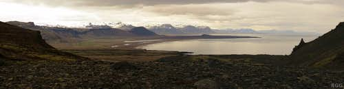 A tranquil Atlantic Ocean, south of the Snæfellsness peninsula