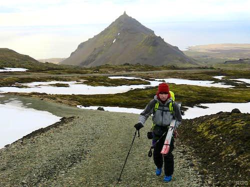 Heading out to Snæfellsjökull