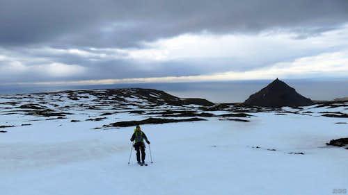 Jan on Snæfellsjökull