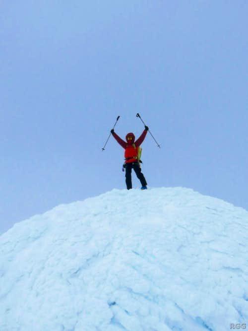 On top of Snæfellsjökull