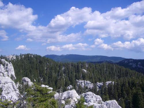 Bjelolasica mountain...