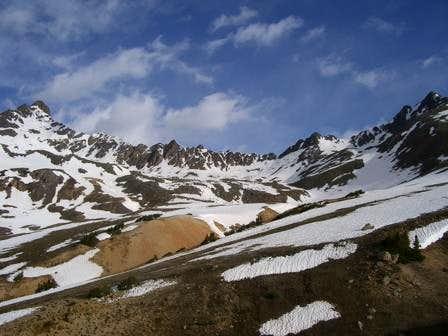 The ridge from Wetterhorn (on...