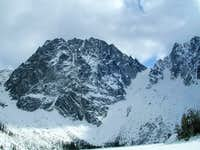 Dragontail Peak from Colchuck...