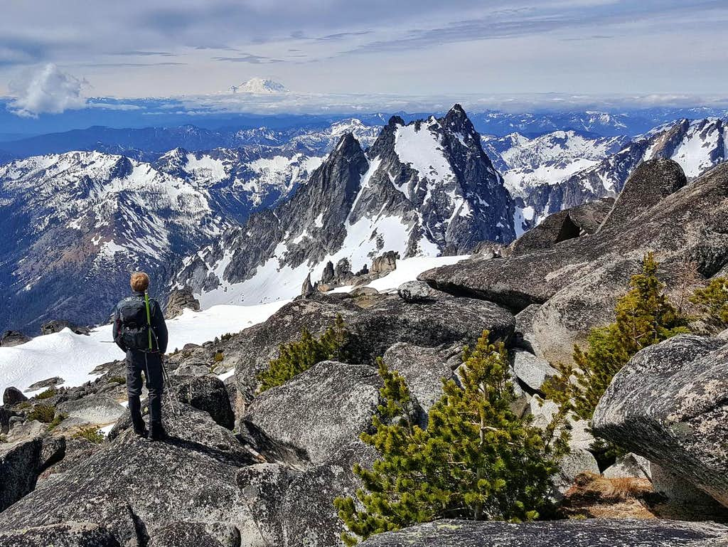 Argonaut from Colchuck Peak