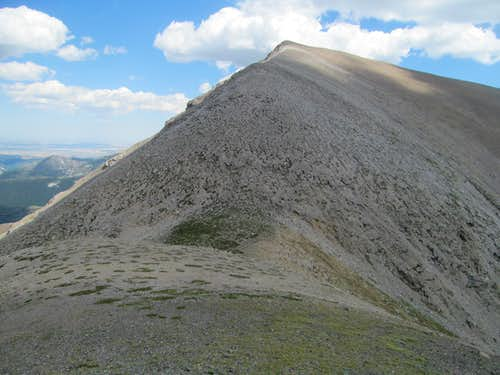 East Rocky from the saddle