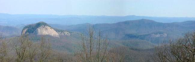 Looking Glass Rock and nearby...