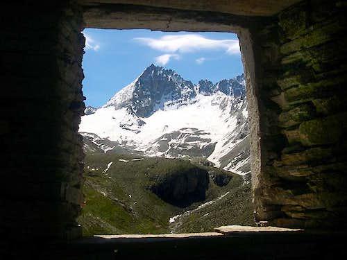 Herbetet seen from a window...