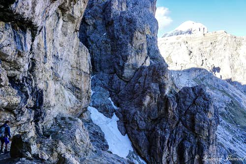 Lower part of the Ferrata