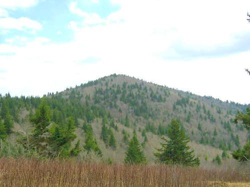 Mount Hardy, as viewed from...