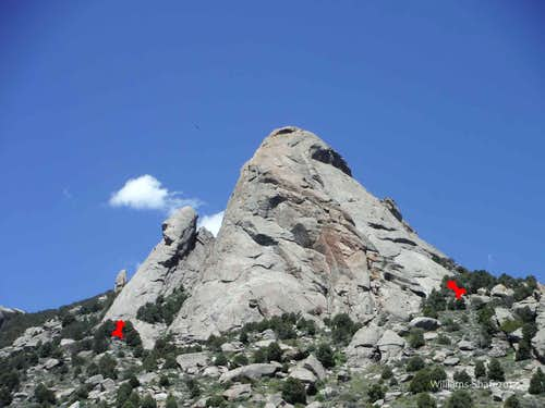 Steinfell's Dome and Jackson's Thumb, 5.7-5.10d