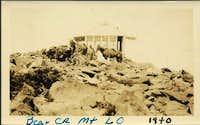 Bear Creek Mtn Lookout 1940