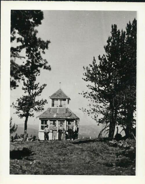 Blue Slide Lookout 1942