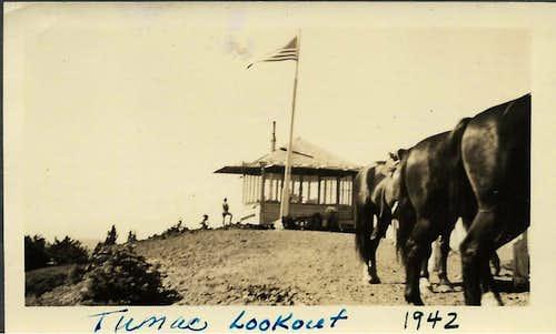Tumac Mtn Lookout 1942