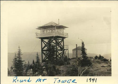 Round Mtn Lookout 1941