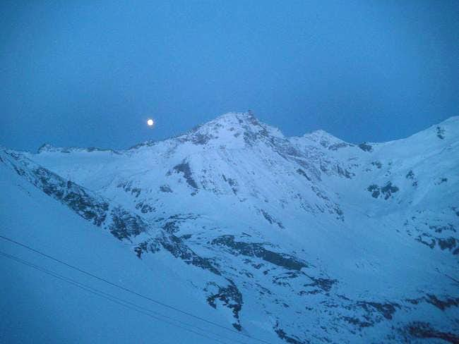 view of Hoher Sonnblick from...