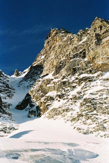 View of North couloir -...