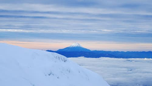 Volcano Sangay from Veintimilla summit, Chimborazo