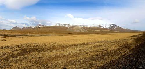 Snæfellsjökull from the west