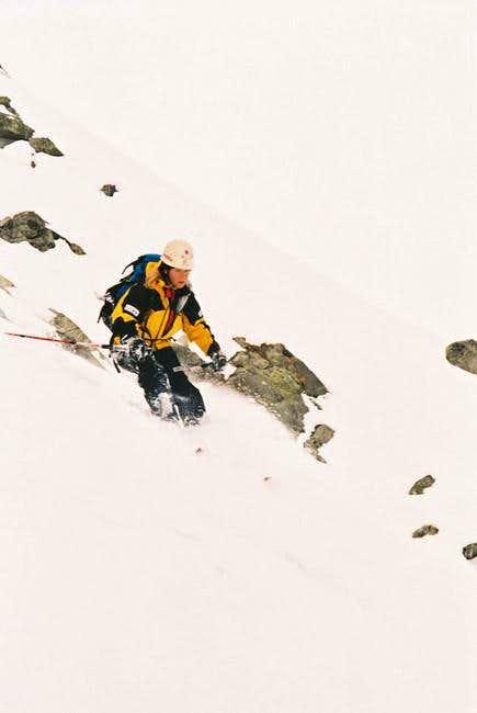 the Slovak female skier -...