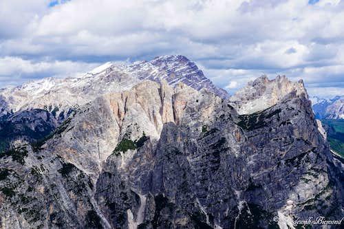 Pomagagnon ridge & Cristallo