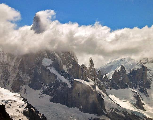 Cerro Torre from Loma del...