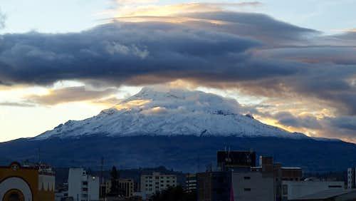 Chimborazo from Riobamba 1