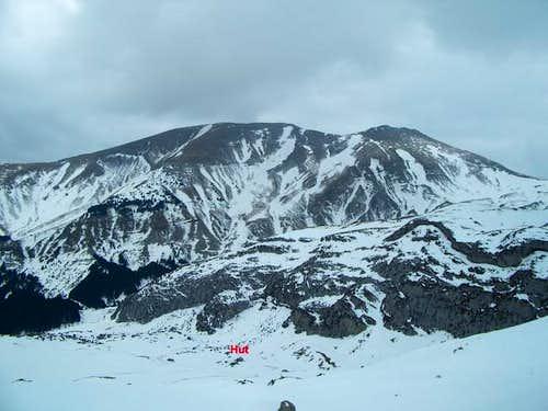 The peak of La Magdalena...