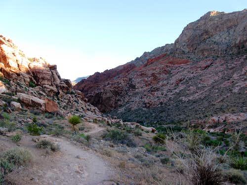 Entering Gateway Canyon