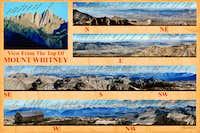 Labeled Mount Whitney Panorama