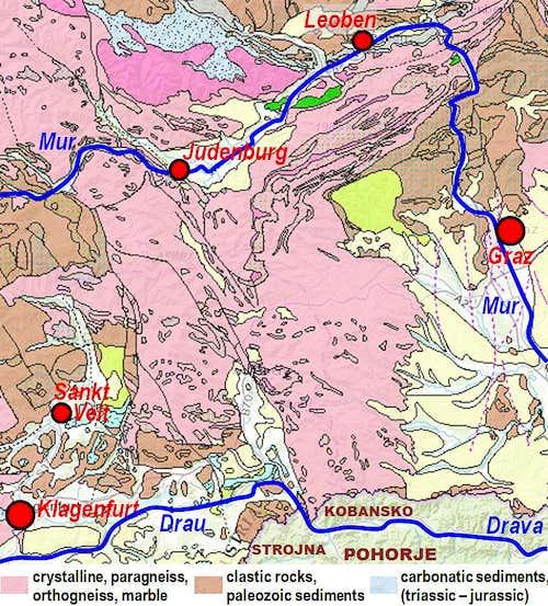 Lavanttal Alps geology