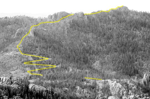 Sylvan Peak Route