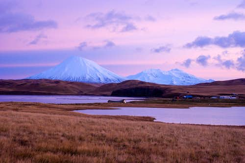 Both Umnak Volcanoes