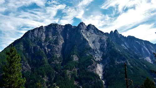 Mount Garfield from Stegosaurus Butte