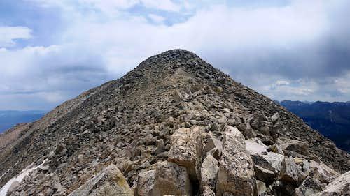 Mt. Yale Summit Mound