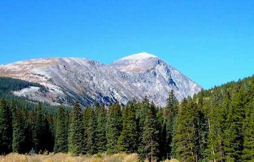 Quandary Peak from East Base