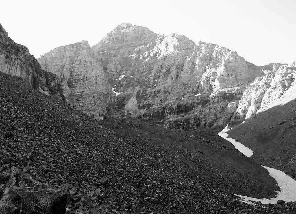 North Face of Pyramid Peak