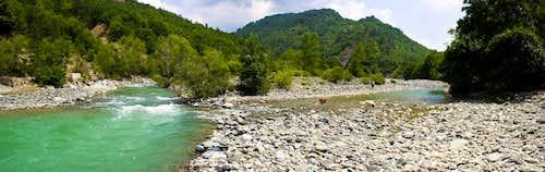 Greek Aoos Valley
