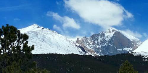 Mt. Meeker & Longs Peak