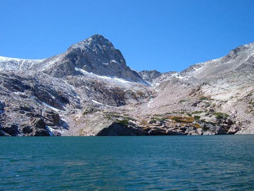 Mt. Toll from Blue Lake
